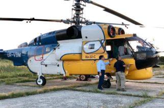 Πυροσβεστικό ελικόπτερο: Όχι άλλο… σανό κυρία Γκαρά και κύριε Ρίζο