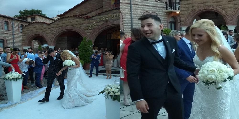 Την πιο όμορφη νίκη της ζωής του ο Στ.Πετρόπουλος. Παντρεύτηκε την αγαπημένη του Αναστασία
