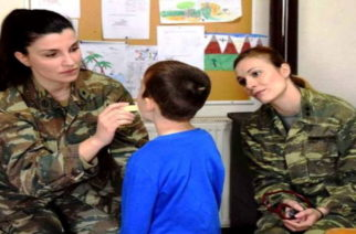 Δωρεάν ιατρικές εξετάσεις από στρατιωτικό κλιμάκιο, στο χωριό Μαράσια Ορεστιάδας