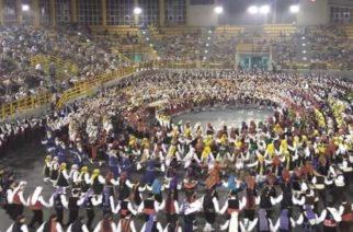 Με 2.000 χορευτές πραγματοποιήθηκε το 10ο Πανθρακικό Αντάμωμα στην Ξάνθη (πολλά ΒΙΝΤΕΟ)