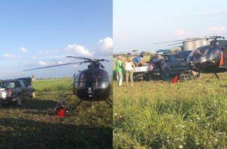 Ξεκίνησαν οι αεροψεκασμοί καταπολέμησης κουνουπιών στον βόρειο Έβρο (ΒΙΝΤΕΟ)