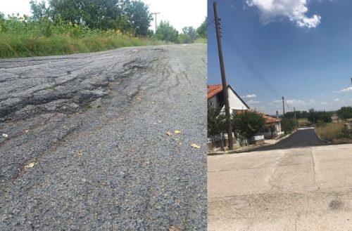 """Δήμος Ορεστιάδας: Σε τραγική κατάσταση οι επαρχιακοί δρόμοι, ο Β.Μαυρίδης """"διαφημίζει"""" λίγα μέτρα άσφαλτο"""