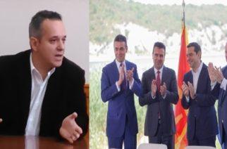 Δήλωση Π.Χασανίδη προσπαθώντας να δικαιολογήσει ότι τάχθηκε υπέρ της επαίσχυντης συμφωνίας με τα Σκόπια