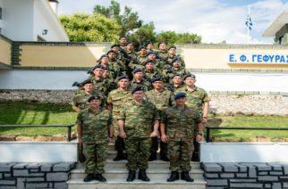 Επίσκεψη του Γενικού Επιθεωρητή Στρατού στον Έβρο (φωτορεπορτάζ)