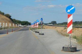 ΟΔΗΓΟΙ ΠΡΟΣΟΧΗ: Προσωρινές κυκλοφοριακές ρυθμίσεις στο τμήμα του κάθετου άξονα Αρδανίου-Μάνδρας