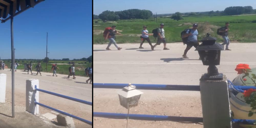 Πύθιο: Η αστυνομία συνέλαβε λαθρομετανάστες και στέλεχος ΜΚΟ; (ΒΙΝΤΕΟ)