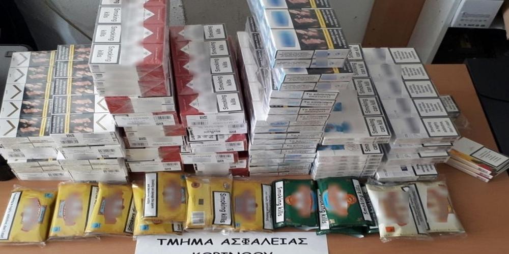 Αλεξανδρούπολη: Συλλήψεις δύο αλλοδαπών για λαθραία τσιγάρα