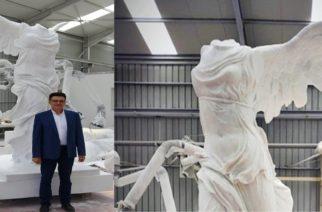 Πέτροβιτς: Δεύτερο άγαλμα της Νίκης της Σαμοθράκης, θα τοποθετηθεί στην Αλεξανδρούπολη (ΒΙΝΤΕΟ)