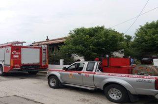 ΤΩΡΑ: Νέα ΠΥΡΚΑΓΙΑ και πάλι σε σπιτι στο χωριό Πέπλος