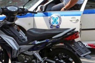 Ανήλικος και 20χρονος συνελήφθησαν στις Φέρες γιατί έκλεψαν μοτοποδήλατο
