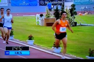 ΜΕΓΑΛΗ ΕΠΙΤΥΧΙΑ: Δεύτερος ο Μάρκος Γκούρλιας στα 1.500 μ. του Πανελλήνιου πρωταθλήματος Στίβου