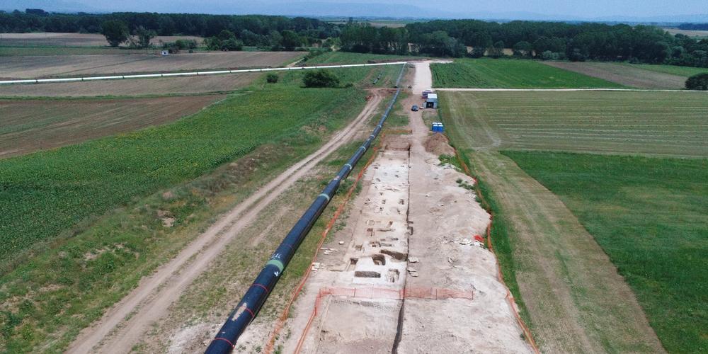 Νέες αρχαιολογικές θέσεις και σημαντικά ευρήματα  από τις ανασκαφές για τον ΤΑΡ