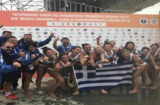 Παγκόσμια Πρωταθλήτρια η Ελλάδα με τις Εβρίτισσες αδερφές Κεπεσίδου στη σύνθεση της στο μπιτς χάντμπολ