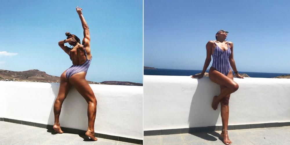 """Κορμάρα η συμπατριώτισσα μας τραγουδίστρια Ελένη Χατζίδου. """"Πανικός"""" με φωτογραφίες απ' τις διακοπές της"""