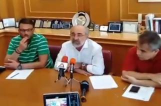 """Υπογράφηκε η σύμβαση επέκτασης ποδηλατόδρομου και κατασκευής πάρκινγκ στο """"Φώτης Κοσμάς"""" (video)"""