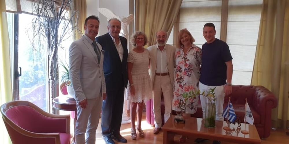 Συνάντηση του δημάρχου Αλεξανδρούπολης με αντιπροσωπεία από τον γαλλικό δήμο Plessis-Robinson των Παρισίων