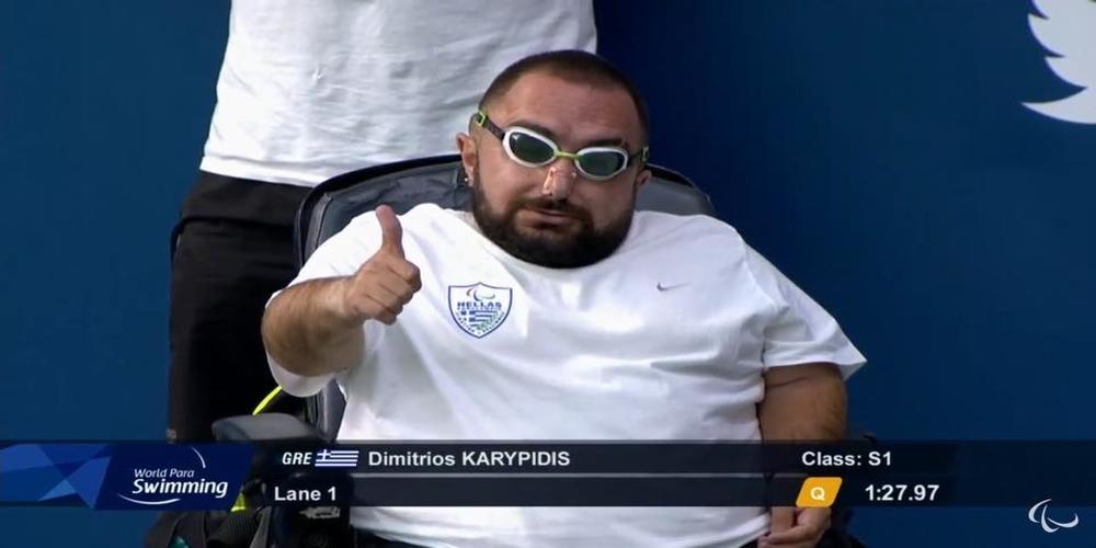 Μπράβο Δημήτρη: Τρίτος και χάλκινο μετάλλιο ο Εβρίτης Δ.Καρυπίδης στο Ευρωπαϊκό Πρωτάθλημα Κολύμβησης