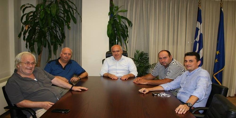 Συνάντηση Μέτιου με Προέδρους των ΝΟΔΕ Περιφέρειας ΑΜ-Θ. Ζήτησε την στήριξη τους