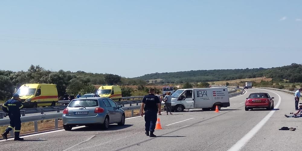 Εγνατία οδός: Συνολικά 10 τραυματίες, οι 5 σοβαρά από το τουμπάρισμα