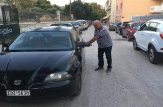 Καταγγέλει τον Αντιδήμαρχο Οικονομικών Γ.Παντελίδη για δπλό παράνομο παρκάρισμα ο Παύλος Μιχαηλίδης