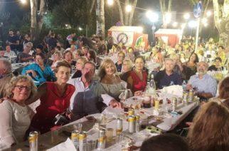 Γεύση από θρακιώτικο γλέντι πήραν χθες βράδυ οι Γάλλοι καλεσμένοι στη Γιορτή Κρασιού