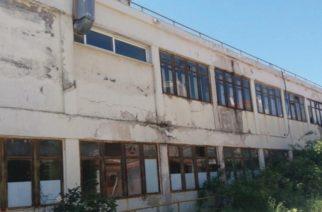 ΠΥΡΚΑΓΙΑ τα ξημερώματα στο παλαιό Νοσοκομείο Αλεξανδρούπολης