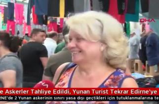 Αδριανούπολη: Τα τουρκικά ΜΜΕ προβάλλουν τους Έλληνες που πηγαίνουν για ψώνια στην Αδριανούπολη