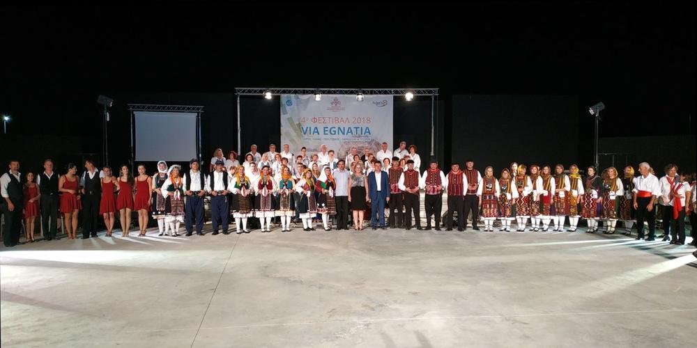 Η διαχρονικότητα της Εγνατίας Οδού «φωτίστηκε» μέσα από τις εκδηλώσεις του 4ου Φεστιβάλ Via Egnatia στον Έβρο
