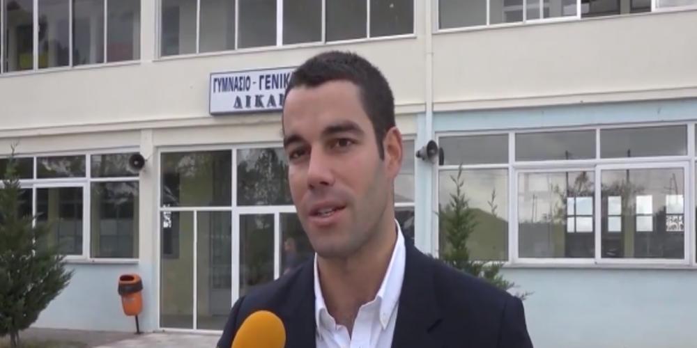 """Τα σχολεία των Δικαίων """"υιοθέτησε""""με σημαντική βοήθεια η αθηναϊκή εταιρεία Ισμαήλος-MERCEDES BENZ"""