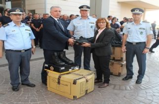 Προσφορά ειδικού υπηρεσιακού εξοπλισμού στους αστυνομικούς του Έβρου από τον Όμιλο FF GROUP