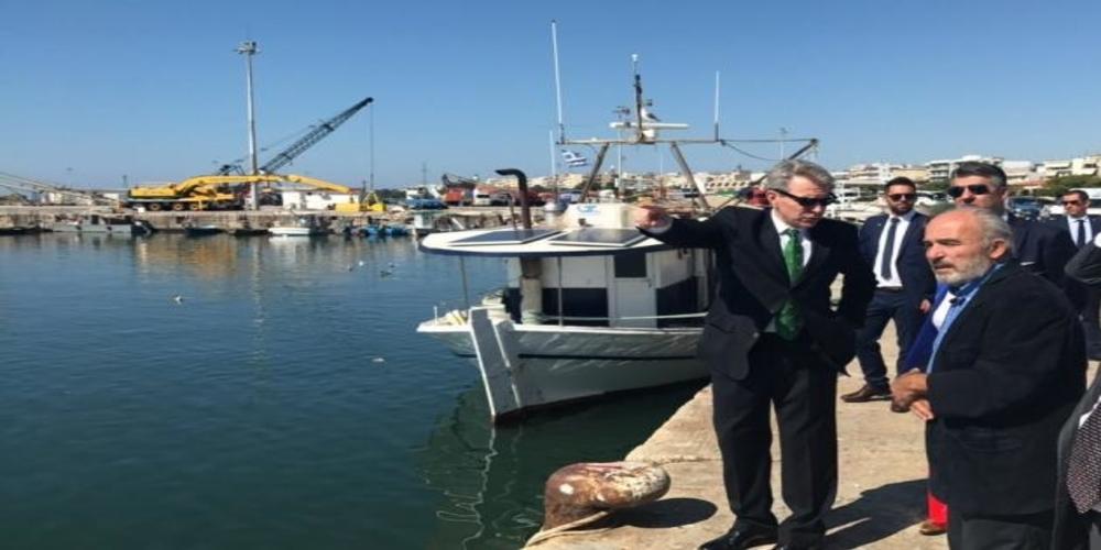 Στην Αλεξανδρούπολη αρχές Οκτώβρη ο Αμερικανός Πρέσβης Τζέφρυ Πάιατ και ο νέος Πρόξενος Γκρέγκορι Φλέγκερ