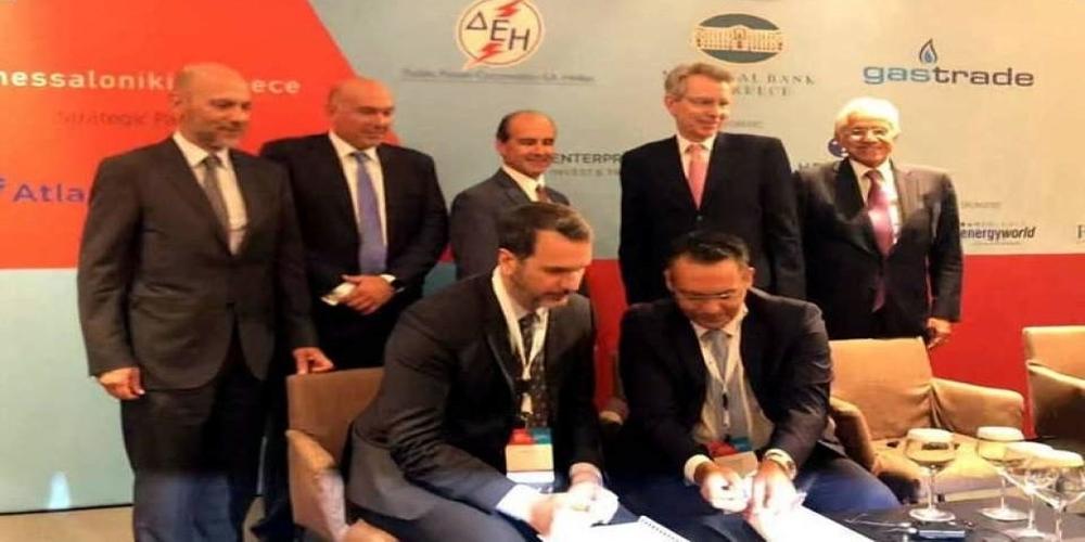 Υπογράφηκε η συμφωνία ΔΕΠΑ-Gastrade για τον σταθμό υγροποιημένου φυσικού αερίου στην Αλεξανδρούπολη
