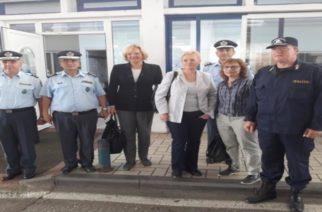 Επίσημη επίσκεψη Αρχηγού Ομοσπονδιακής Αστυνομίας της Αυστρίας Dr. Michaela KARDEIS στην περιοχή του Έβρου