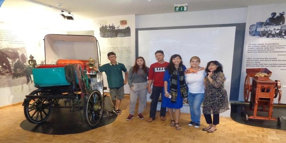 Ορεστιάδα: Οι πρώτοι επισκέπτες από την… Ινδονησία στο Ιστορικό Μουσείο