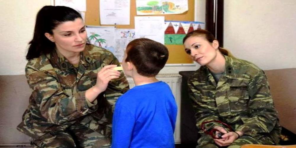 Στην Πτελέα Ορεστιάδας για δωρεάν εξετάσεις Στρατιωτικό Ιατρικό κλιμάκιο