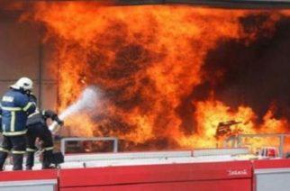 ΜΕΓΑΛΗ ΦΩΤΙΑ ΤΩΡΑ σε εργοστάσιο της Αλεξανδρούπολης. Συναγερμός στην Πυροσβεστική