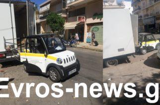 Αλεξανδρούπολη: Τροχαίο με τραυματισμό δημοτικού υπαλλήλου πριν λίγο