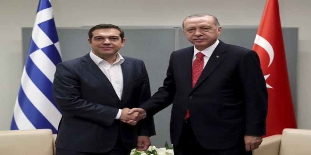 """Τα θέματα μουσουλμανικής μειονότητας στη Θράκη και των """"8"""" Τούρκων έθεσε πάλι ο Ερντογάν"""