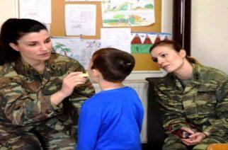 ΔΩΡΕΑΝ εξετάσεις σε δυο χωριά της Ορεστιάδας από στρατιωτικό ιατρικό κλιμάκιο