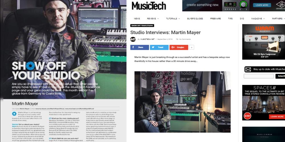 Αφιέρωμα στον Εβρίτη Κ.Μερτζανίδη που διαπρέπει στη Γερμανία, απ' το κορυφαίο αγγλικό μουσικό περιοδικό Music Tech
