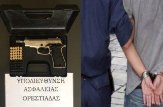 Ορεστιάδα: Συνελήφθη 57χρονος σε χωριό, για παράνομη οπλοκατοχή πιστολιού