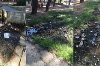 Ορεστιάδα: Απαράδεκτη κατάσταση και εστία μόλυνσης στο πάρκο Πεύκων καταγγέλουν γονείς