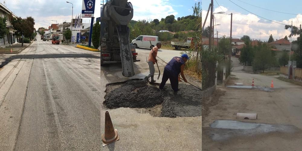 """Δήμος Ορεστιάδας: Βουλώνουν… τρύπες κάνοντας το αυτονόητο και το """"διαφημίζουν"""" ως σπουδαία έργα"""
