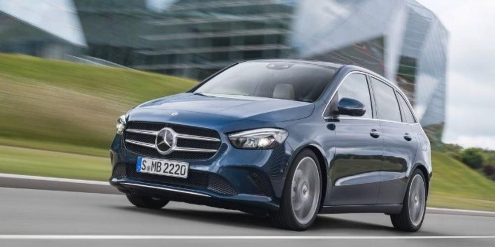 Γνωρίστε τη νέα Mercedes B-Class [εικόνες & βίντεο]