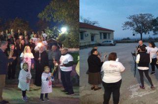 Η Πανελλήνια Λαμπαδηδρομία Εθελοντών Αιμοδοτών χθες στο Παλιούρι Διδυμοτείχου (φωτό)