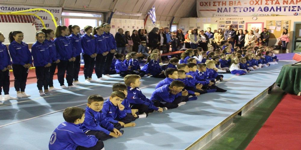 Δυναμικό ξεκίνημα, παρά τα σοβαρά προβλήματα έλλειψης χώρων προπόνησης για τον Όμιλο Ενόργανης Γυμναστικής Αλεξανδρούπολης
