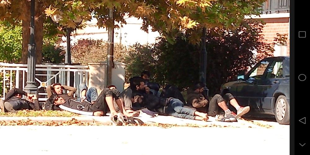 Ορμένιο Τριγώνου: Λαθρομετανάστες που πέρασαν τον Έβρο… λιάζονται (που έλεγε και η Τασία)