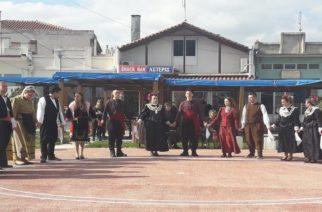 Με θρακιώτικους χορούς και τραγούδια τίμησαν την επέτειο της 28ης Οκτωβρίου στη Ν.Βύσσα (video+φωτό)