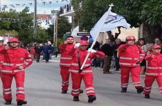 Στις παρελάσεις Διδυμοτείχου και Σουφλίου, το τοπικό τμήμα του Ελληνικού Ερυθρού Σταυρού