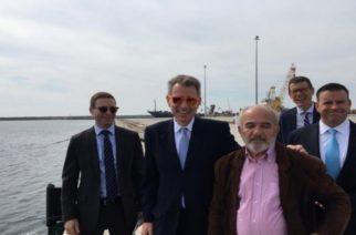 """Πάιατ: """"Σημαντική και αναξιοποίητη οικονομική δύναμη το λιμάνι Αλεξανδρούπολης"""" (ΒΙΝΤΕΟ)"""